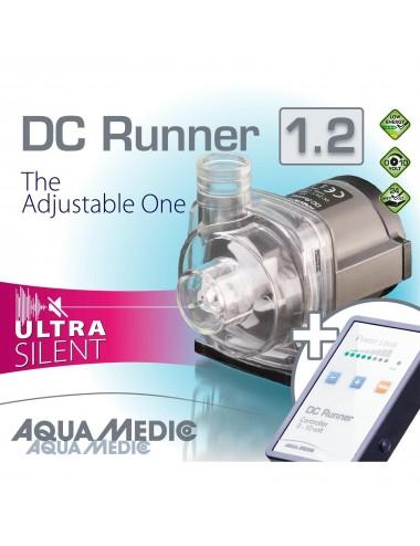 AQUA-MEDIC - DC Runner 1.2 - Pompe universelle avec Contrôleur - 1200 L/H