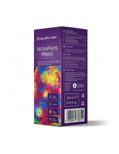 AQUAFOREST - NitraPhos Minus - 200ml - Réduction des NO3 et PO4