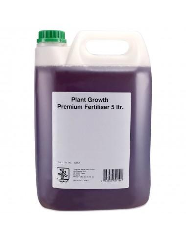 TROPICA - Plant Growth Premium Fertiliser - 5L - Engrais liquide pour aquarium planté