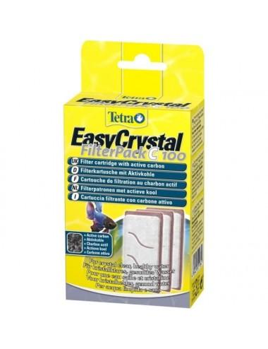 TETRA - EasyCrystal Filterpack C 100 - Une cartouche de filtration tetra c100 destiné à l'aquarium cascade globe