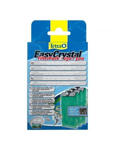 TETRA -  Filter Pack C250/300 avec charbon - Cartouche pour filtre EasyCrystal
