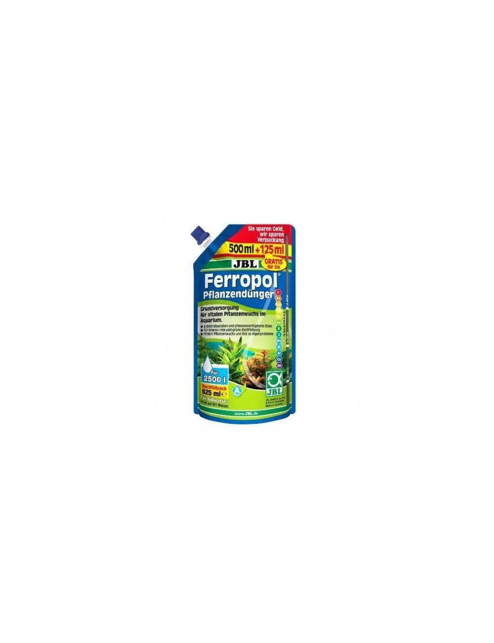 JBL - Ferropol Recharge 500ml + 125ml gratuit - Fertilisant pour plantes