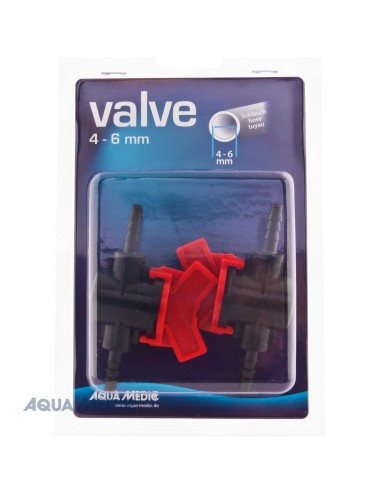 AQUA MEDIC - Robinet 4/6mm pour Tuyaux PVC