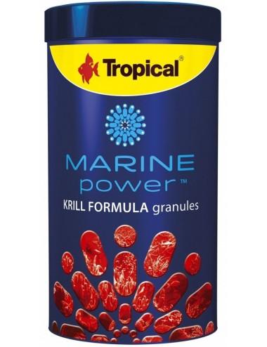 TROPICAL - Marine Power Krill - 1000ml - Nourriture en granulés pour poissons marins