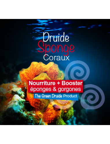 THE GREEN DRUIDE - Sponge - 50ml - Complément nutritif pour les éponges