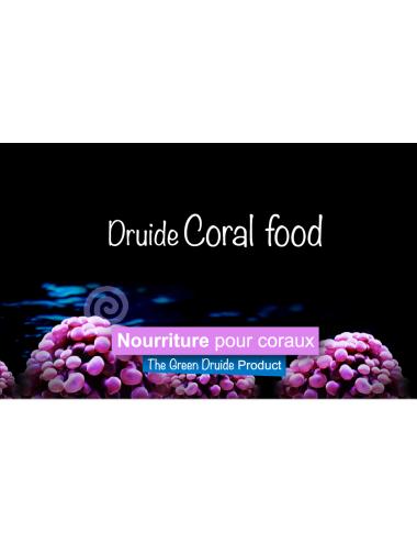 THE GREEN DRUIDE - Coral Food - 50ml - Nourriture en poudre pour coraux
