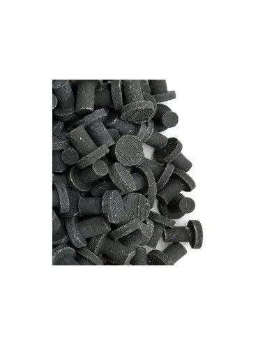BOUTURAGE - 25 Plugs noir hawaïen 100% aragonite