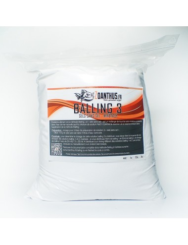 - ZOANTHUS.fr 5kg Balling 3 « sels sans sel » recharge