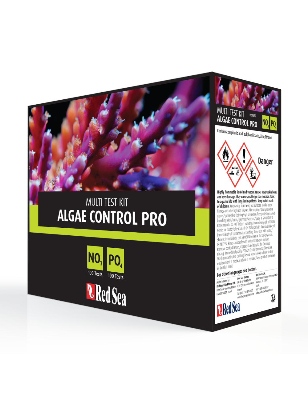 Red Sea -  Algae Control Multi Test Kit NO₃ et PO₄