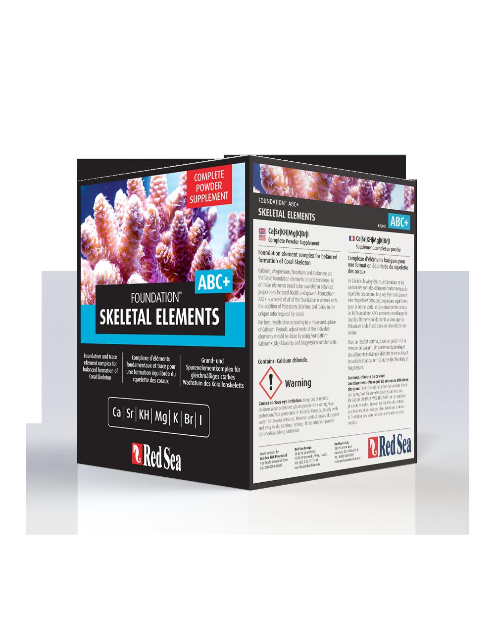 Red Sea - Skeletal Elements - Reef Foundation ABC Plus Powder 1KG box