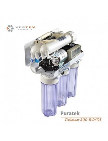 VERTEX - Puratek Deluxe 200 GPD RO/DI - Osmoseur haut de gamme 770 l / jour