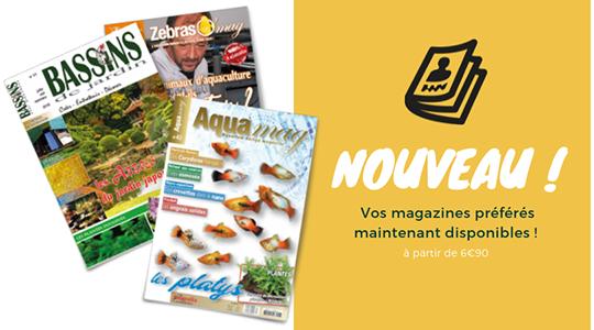Achat / vente livres et magazines sur l'aquariophilie